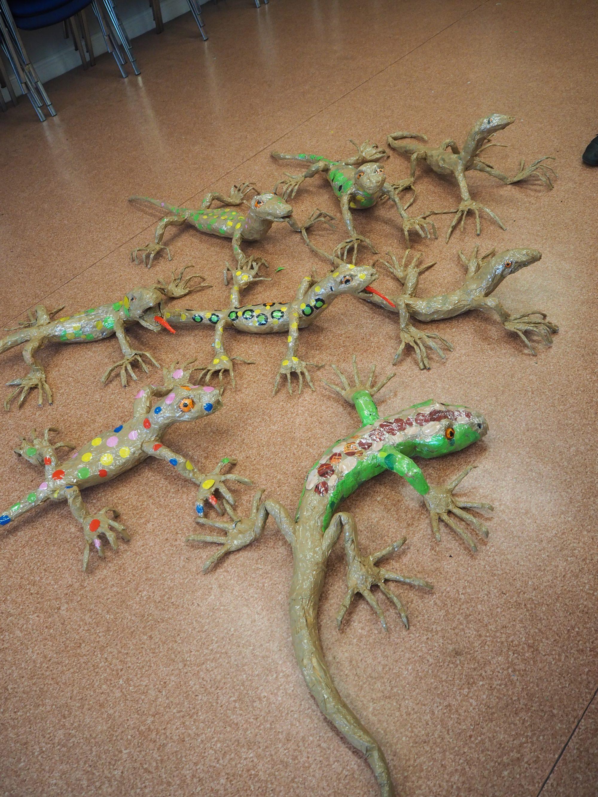 Gems in the Dunes Lizard Models
